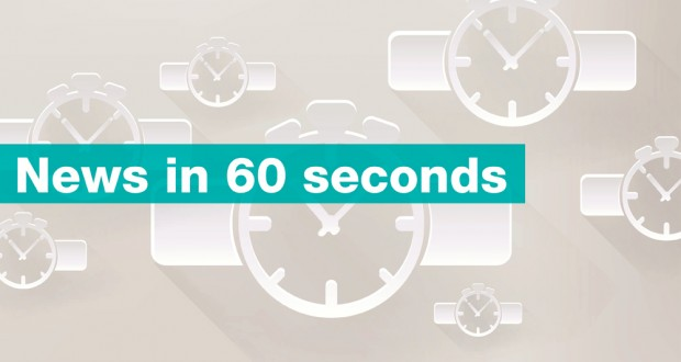 NEWS IN 60 SECONDS